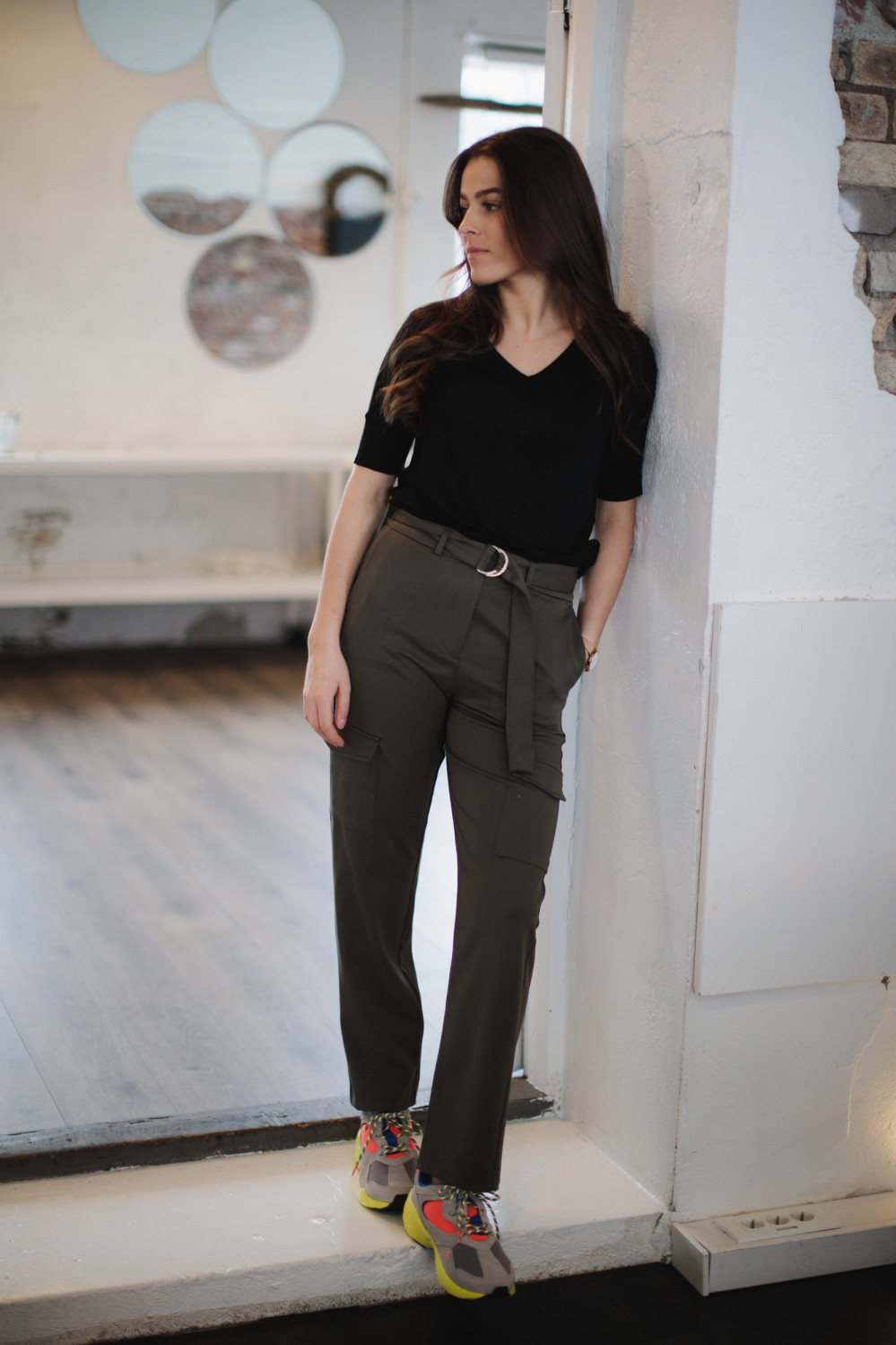 Wilma pant olive night