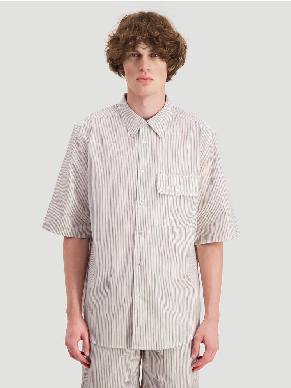 Blyg Shirt Yellow Stripes