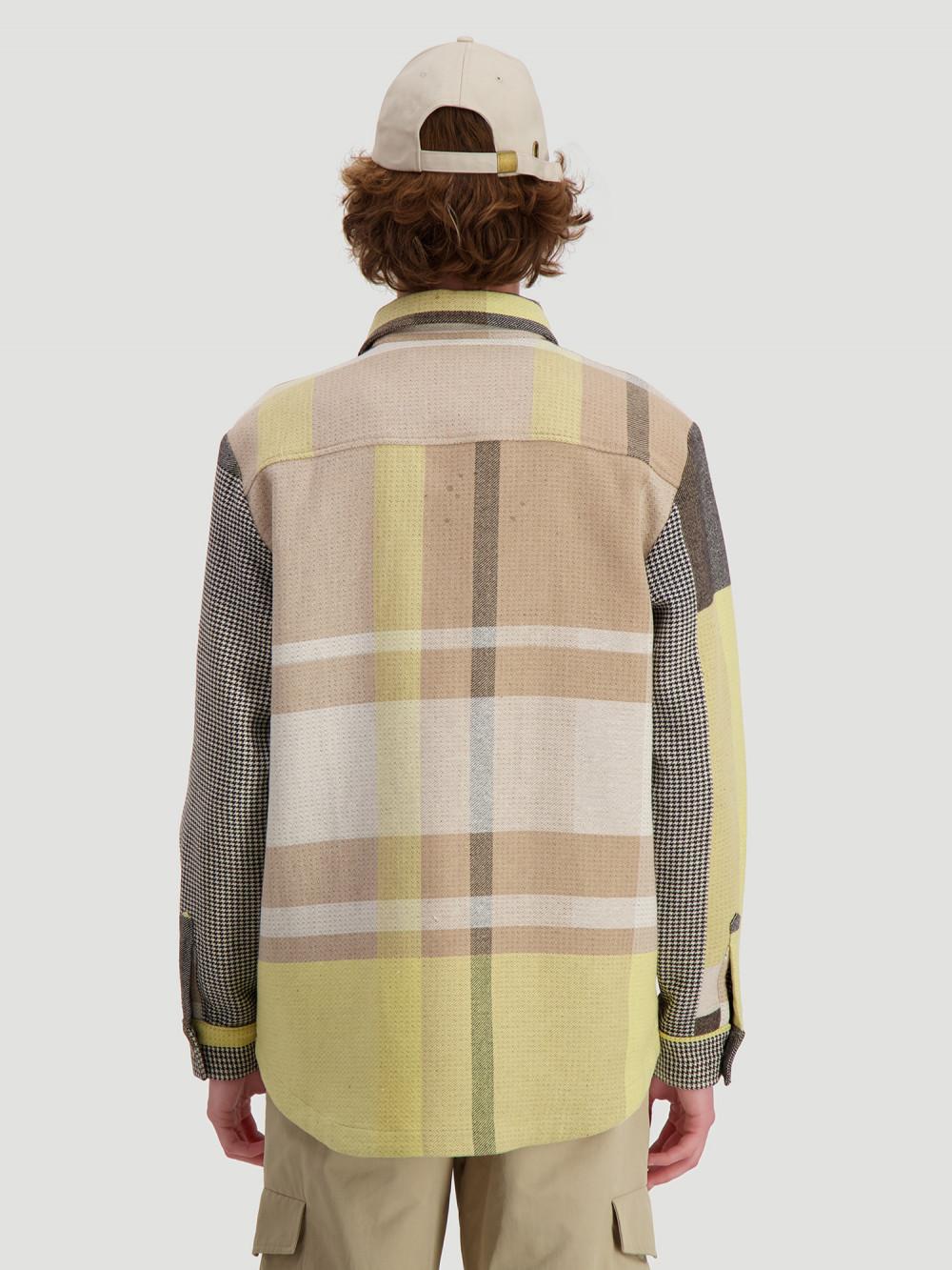 Elix Shirtjacket Yellow Check
