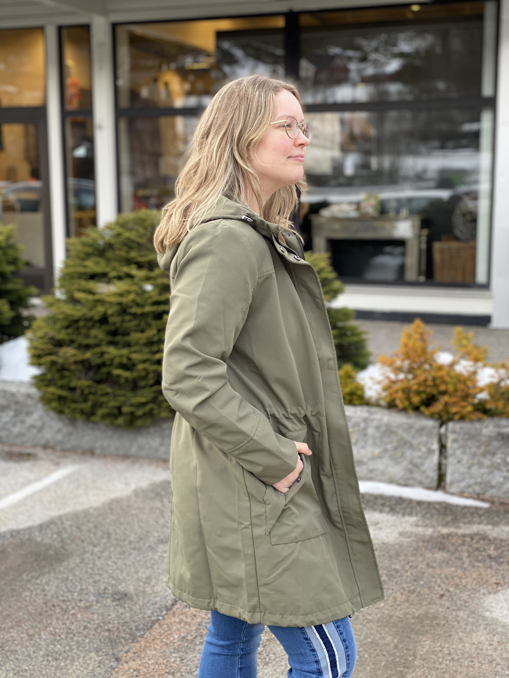 Trench Jacket Hedge