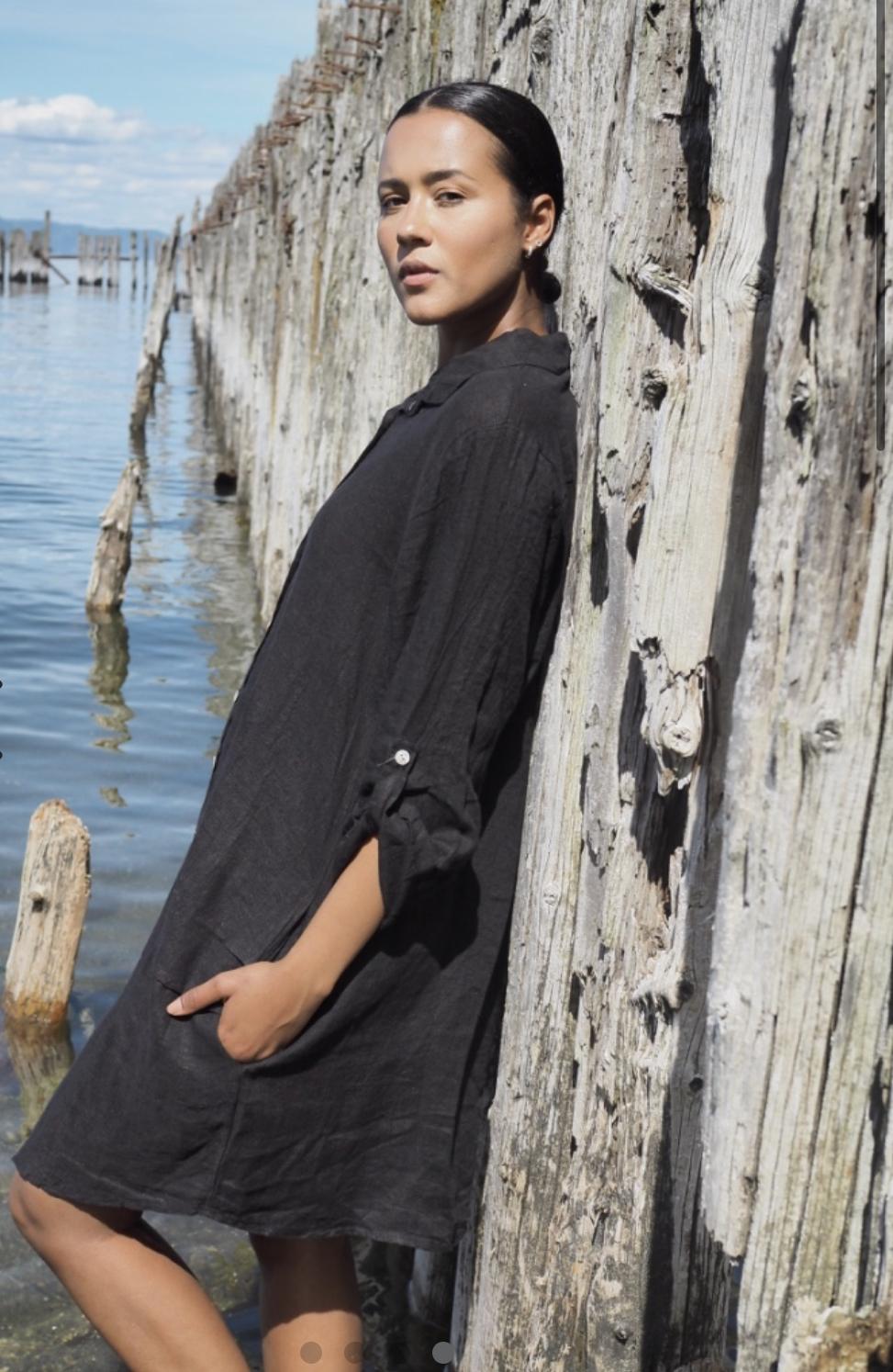 Thale dress BLACK