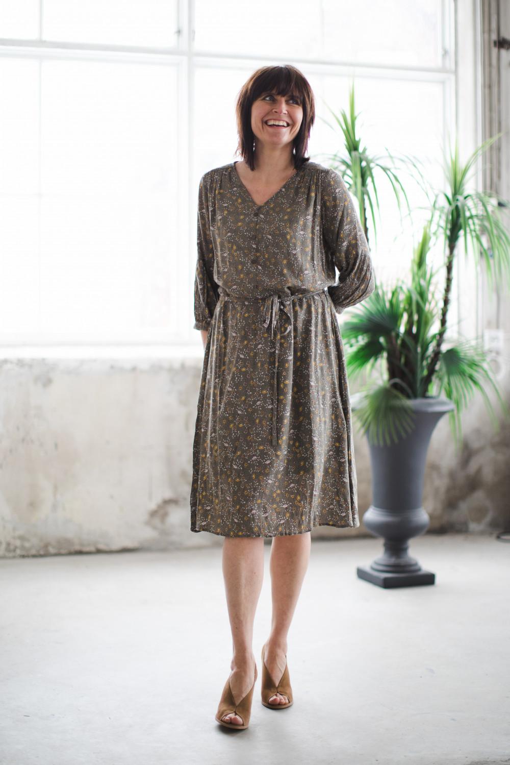 IPCRINKLE DRESS