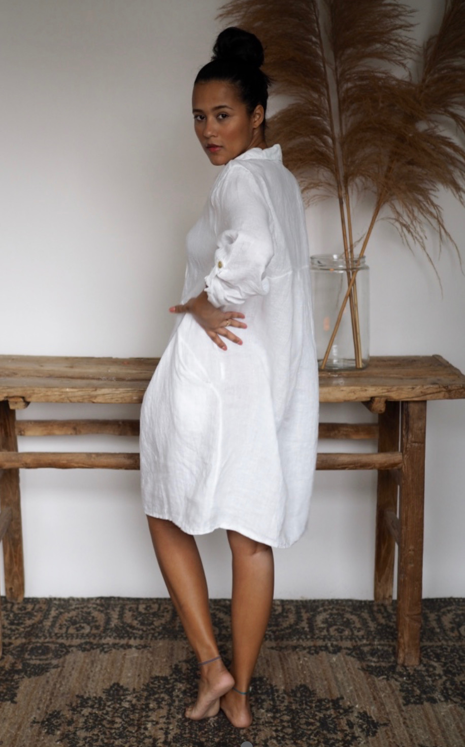 Matilde Dress White