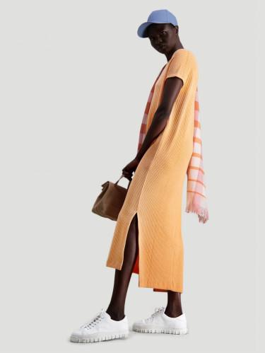 Gate Dress Peach Orange