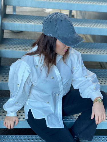 Lily Cap - Washed Black