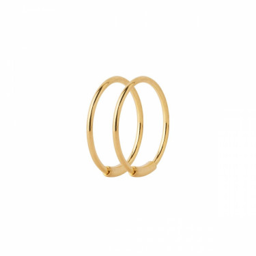 Basic 12 Hoop Gold