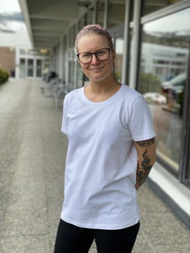 Zashoulder T-shirt White