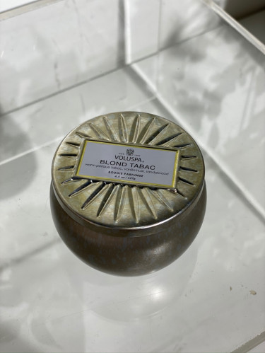 Petit Tin Candle Blond Tabac 25 tim