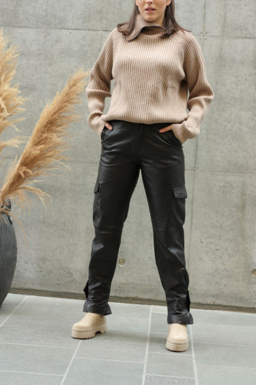 Dunder Leather Trouser