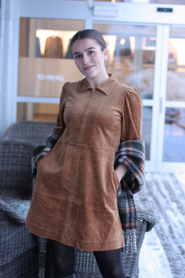 Eyvor Dress CHIPMUNK