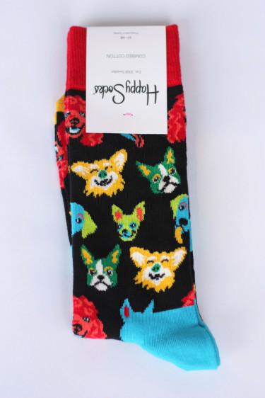Happy Socks FUNNY DOG 41-46