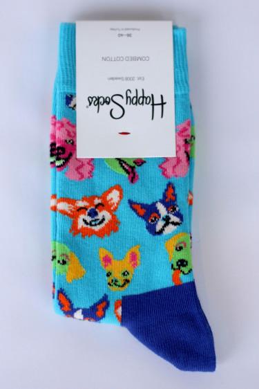 Happy Socks FUNNY DOG 36-40