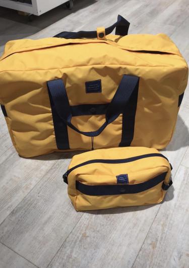 Gant sportsbag // Gul