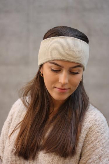 Mara Headband Beige
