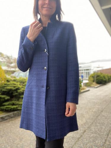 Cashet Coat H034 570 blå