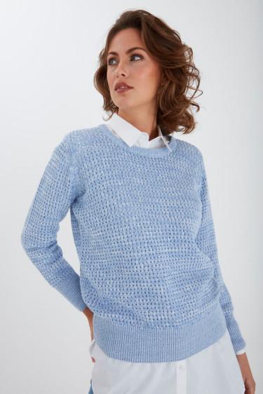 Peridge Pullover Light Blue