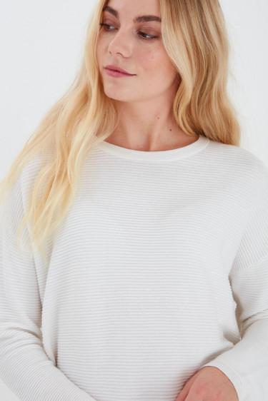 Peganic Pullover Offwhite
