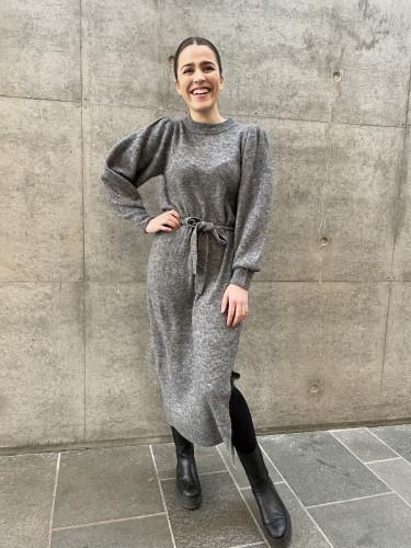Jordan Dress Dark Grey