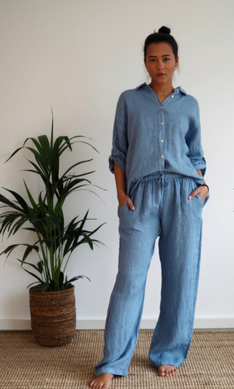 Julien Pants Denim Blue