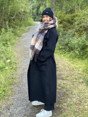 Lana Solid Coat