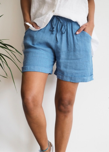 Lotta Shorts Denim Blue