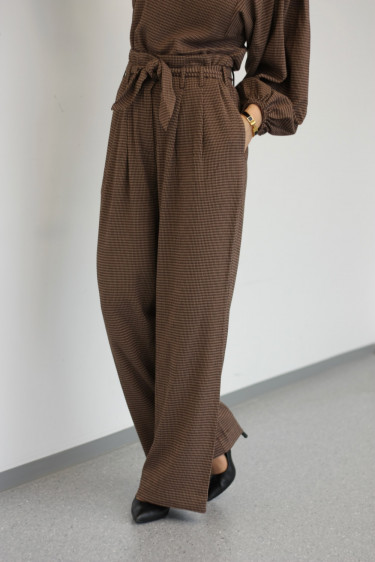 Nellie Trousers Argan Check