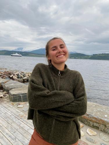 Penguin Knit Cardigan Olive Melange