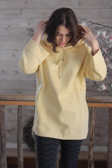 Sissel Hoodie Light Yellow