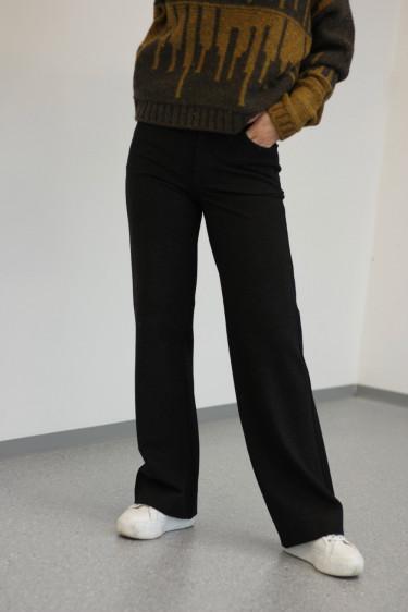 Skifer Trouser Black