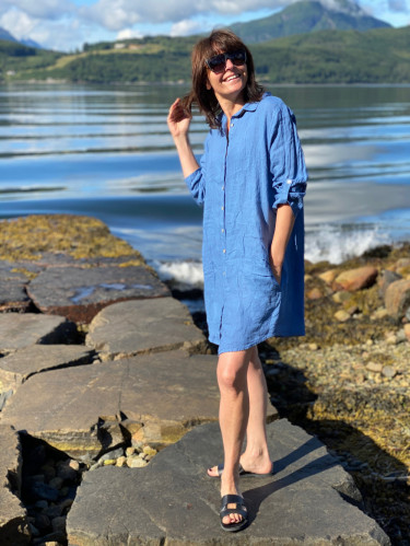 Thale Dress Demin Blue