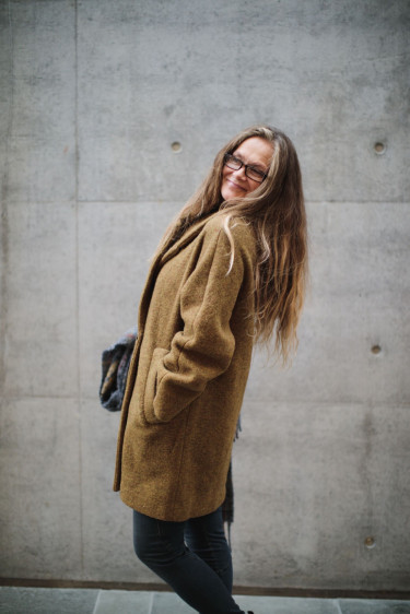 Waverly Wool Golden brown melange