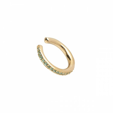 Colore Ear Cuff Mint Gold