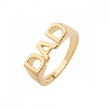Dad Ring Gold