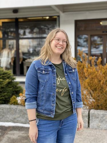 Harper Medium Jeansblue
