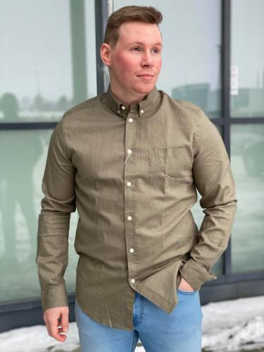 Liam ba shirt 6971 Deep Lichen Green