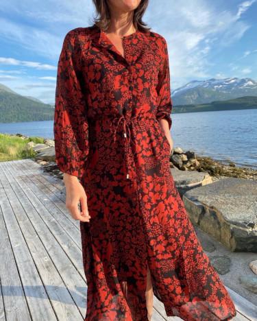 FlorizzalW dress cayenne