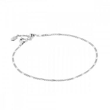 Katie Adjustable Bracelet / Silver