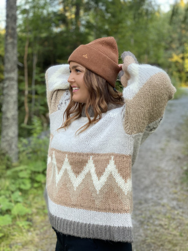 Margay Beanie Brown