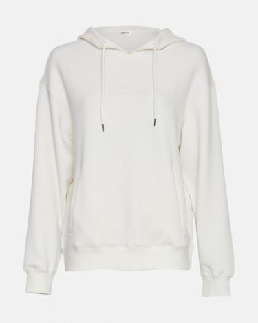 Ima Logo Hood Sweatshirt Offwhite