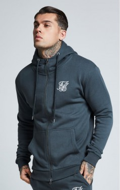 Muscle Fit Zip Up Jacket